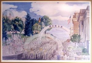 Dixon Arch, Veteran's Day -arch