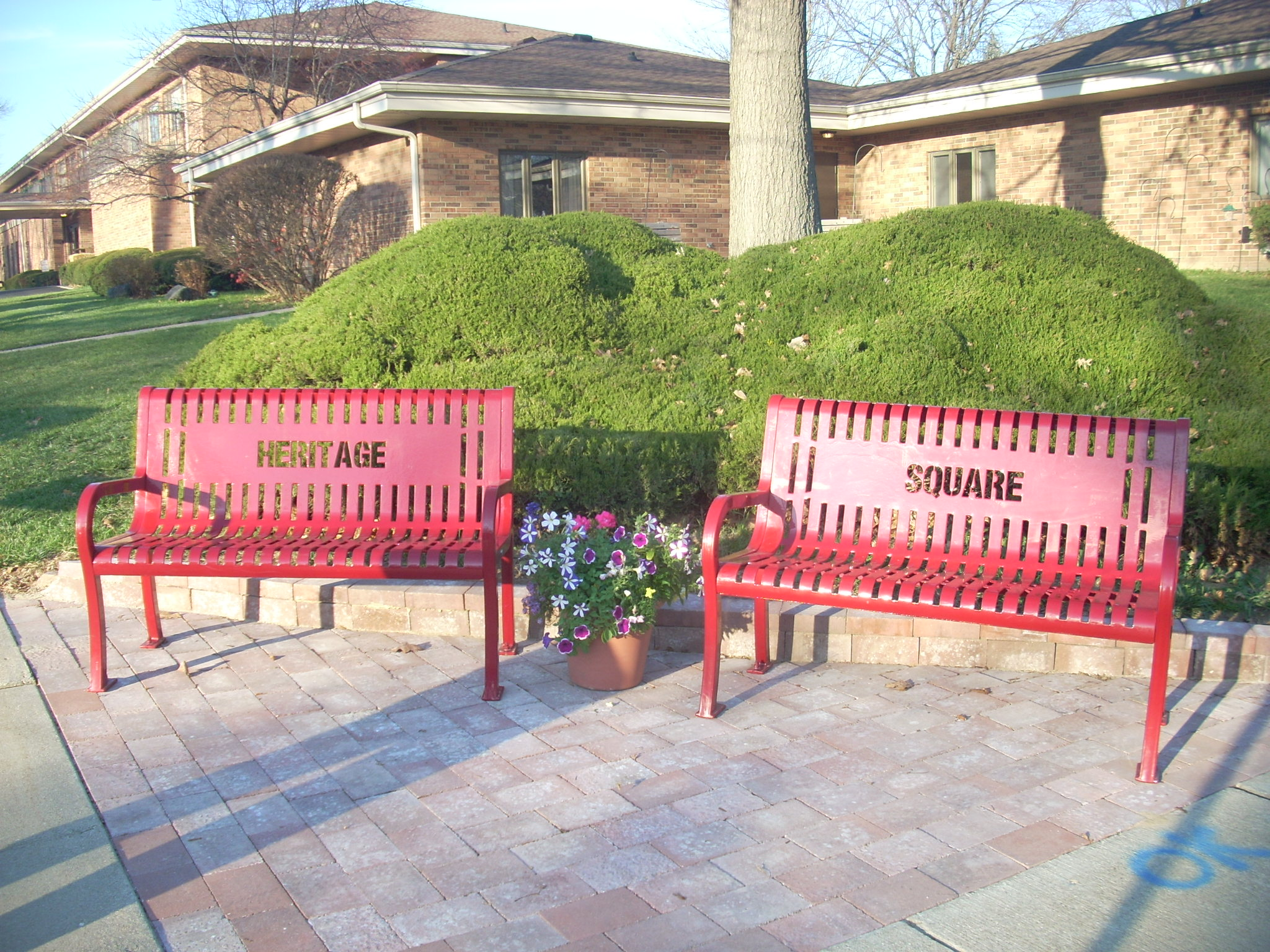 Heritage Square Benches